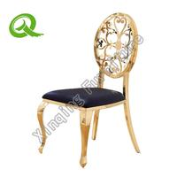 Wholesale Gold Stainless Steel Dining Chair for Events