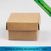 recycled custom brown kraft paper soup box for soup packaging with lid