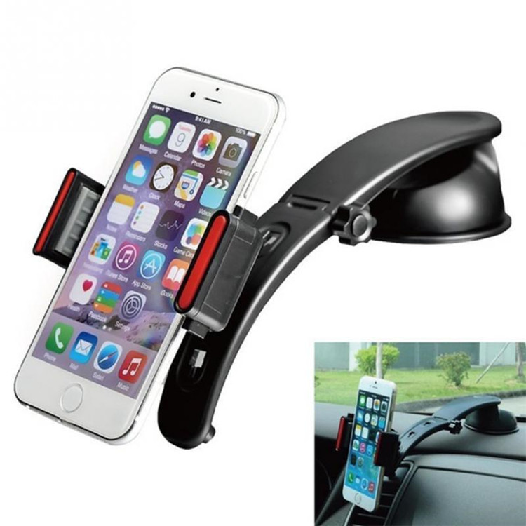 7 inch Luxury 3 in 1 Universal Car Windshield Dashboard Mount Mobile Phone Holder for car