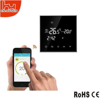 Wifi function electric floor heating smart thermostat