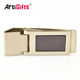 Blank Cool Magnetic Stainless Steel Custom New Metal Money Clip Wholesale For Men