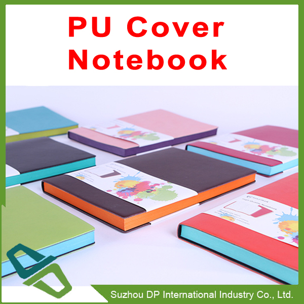 Promotion PU Cover Notebook Assorted Color Notebook