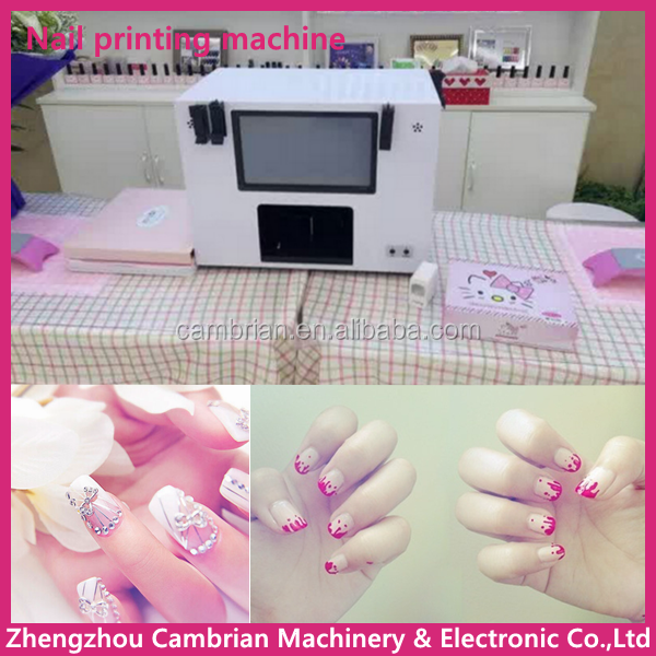 Beauty Salon Use Automatic Nail Painting Machine With Low Price ...