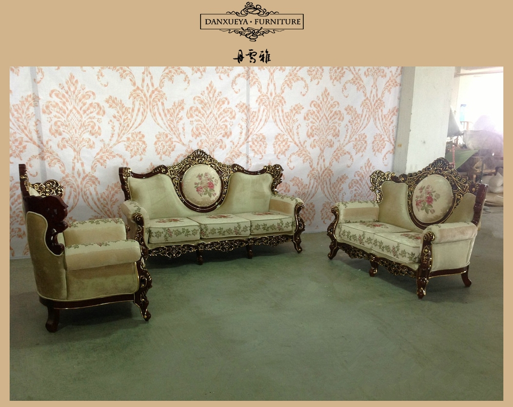 Danxueya living room sofa set italian classic royal throne for Sofa royal classic