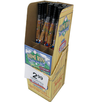 Cardboard display for sport baseball baseball bat horsehide POP UP OEM corrugated customized free standing racks