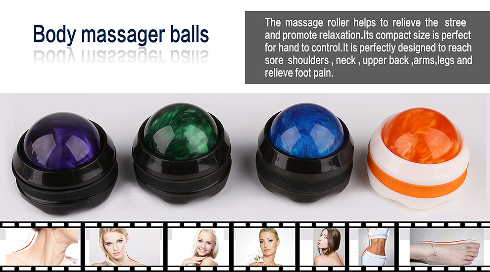 Massage roller, roller ball, massage ball roller