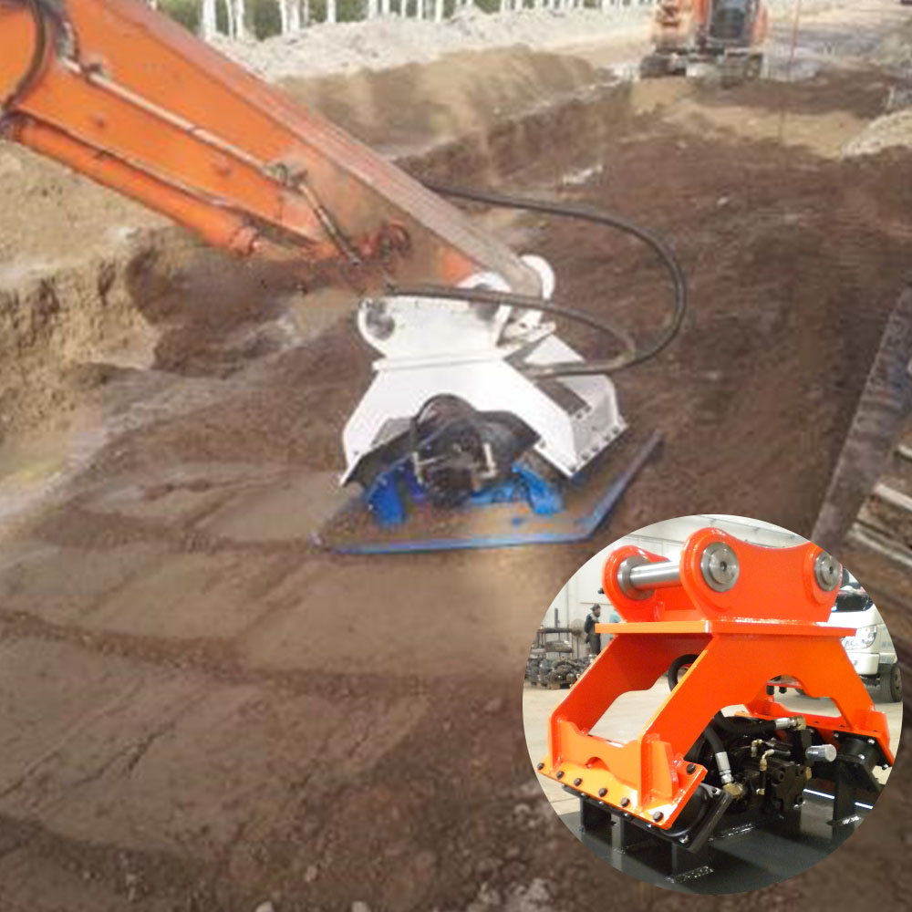 dynapac plate compactor for digger