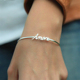 Custom Name Made Bangle Bracelet Jewelry Wholesale China Supplier