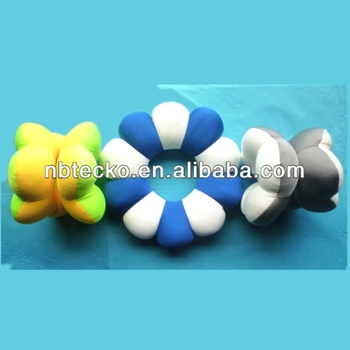 Hot sell cute design foam bead pillow for decorative car ,shop, home