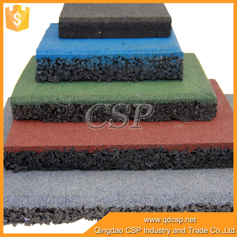 Rubber floor mats cheap - Recycled Crossfit Gym Rubber Flooring Tile Cheap Crossfit Rubber Floor Mat High Quality Cheap