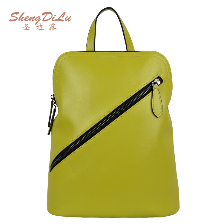 50%0FF Women shoulder bags 100% genuine leather handbags, best quality leather handbag candy color preppy style shoulder bags