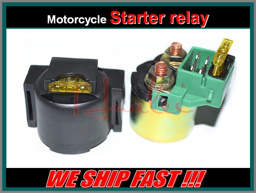 Бесплатная доставка мотоцикл электрические части стартер электромагнитный реле для KAWASAKI ZX600 ниндзя ZX-6 1990-2005