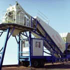 China Top Manufacturer 40m3/h mobile concrete batching plant for sale
