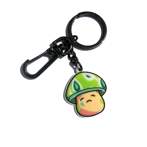 Wholesale custom cartoon 3D soft keyring engrave silicone keychains