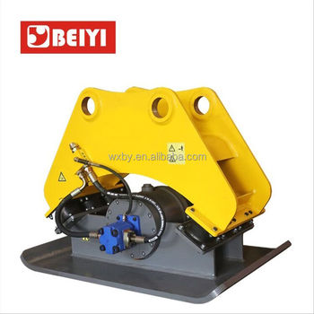 Beiyi hydraulic compactor plate compactor for excavator in construction machinery parts