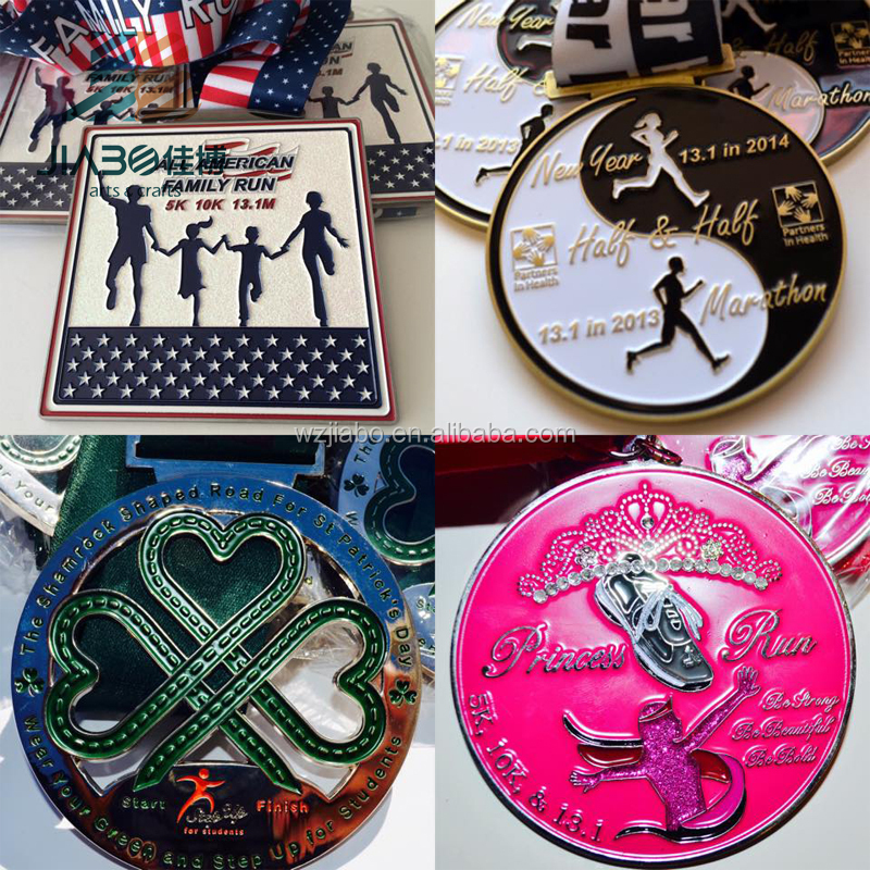 USA hot market running sports medal with customized made