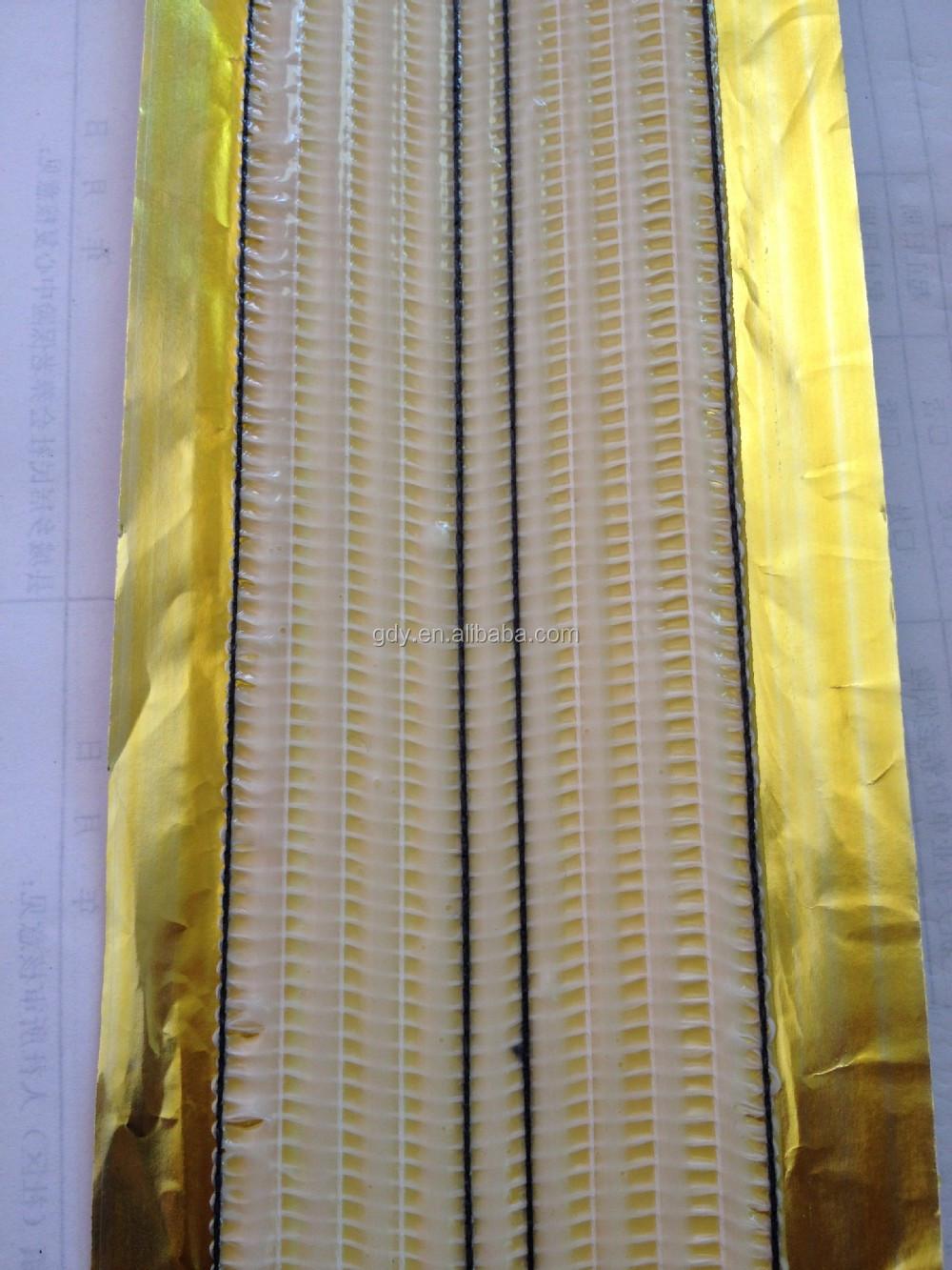 Gold heat seam carpet joining tape 20 mtr roll