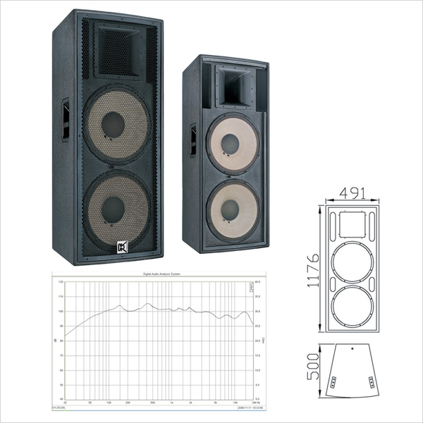 China Wholesale Dj Equipment Dual 15 Inch Speaker