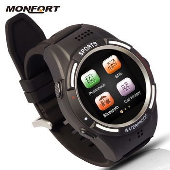 a1b9af32cf5 high quality touch screen sim card watch mobile phone supporting sync phone  call android jav watch