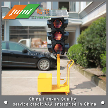 Led Solar Emergency Traffic Signal Light