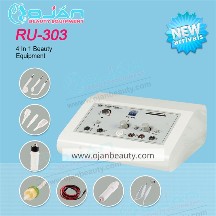 factory supplies efficient beauty product 4 IN 1 supersonic multifunction facial beauty machine