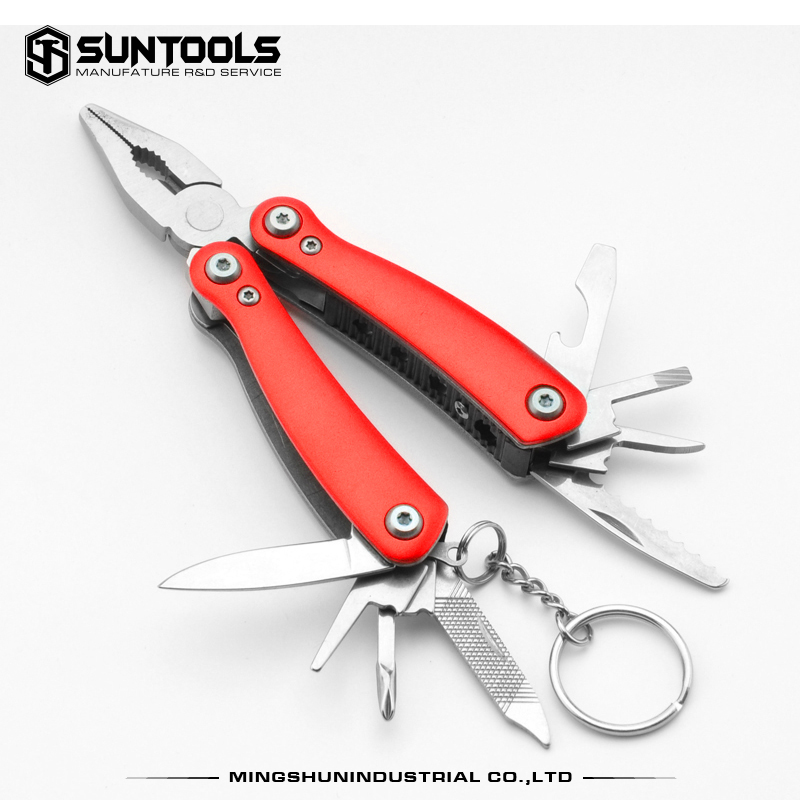 Suntools Functional Outdoor stainless steel gift pliers with keychain