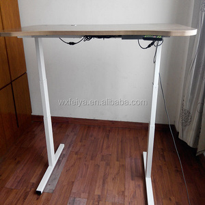 Three Segment Mobile Height Adjustable Computer Workstation