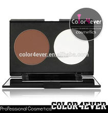 Wholesale Double Colors Contour Blusher Face Powder Palette Set blush wedding dress