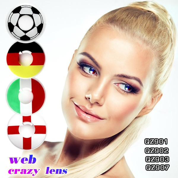 Color eye contact lenses wholesale cheap Crazy contacts various designs available