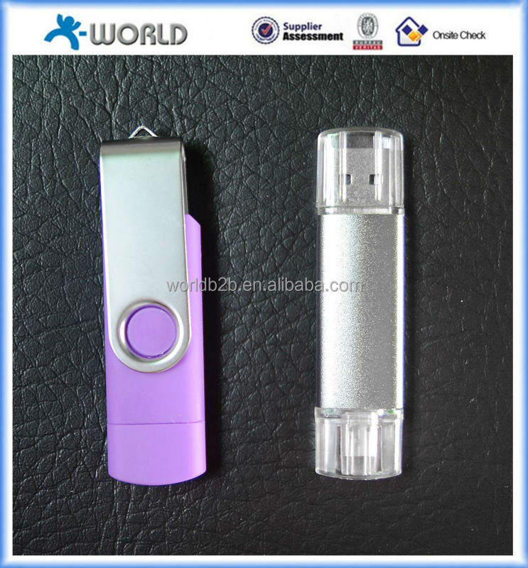 swivel mobile usb flash drive for samsung,2gb 4gb phone usb memory stick,4gb cellphone usb flash drive chip