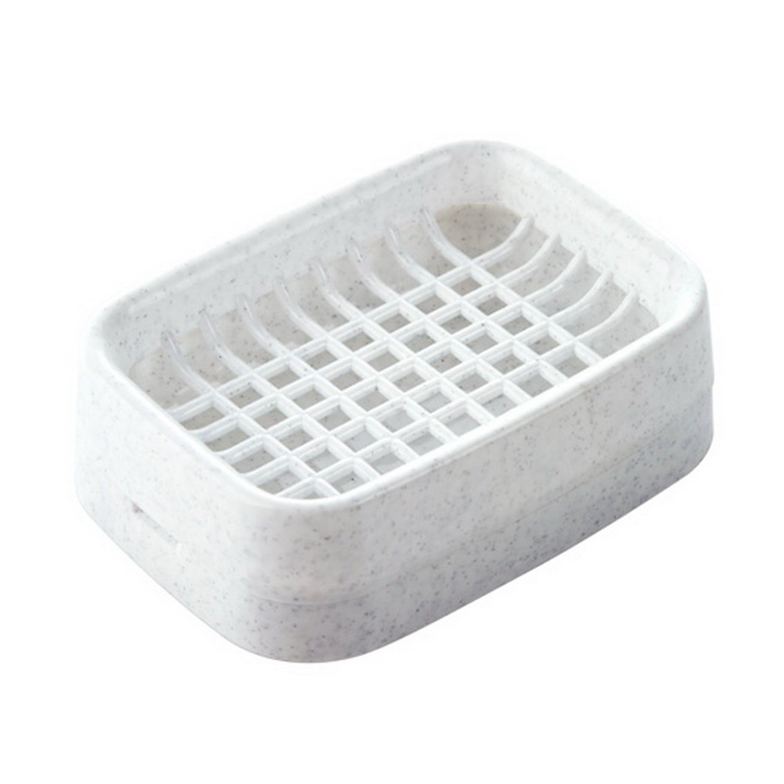 fengg2030shann Double draining soap dish soap holder bathroom toilet wash plastic soap box soap care. Soap box Soap box Bathroom soap box Soap box