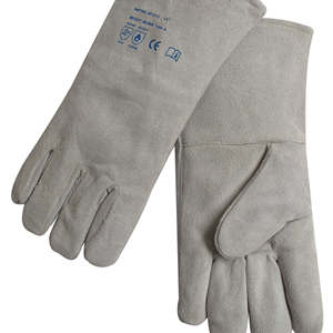 Hand-protecing MIG / TIG Welding Gloves RHK-2112 made by Cow Split Leather with Moderate price
