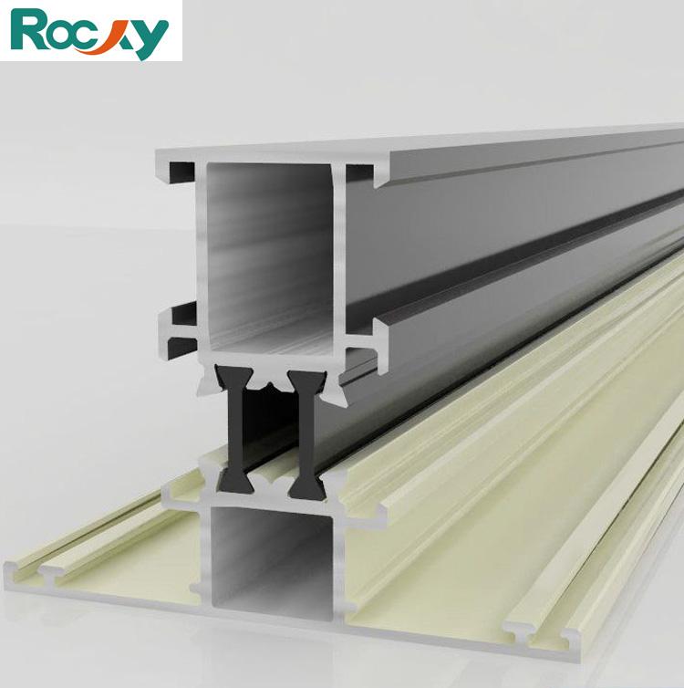 Aluminium Profil Für Glas Fensterrahmen Material - Buy ...