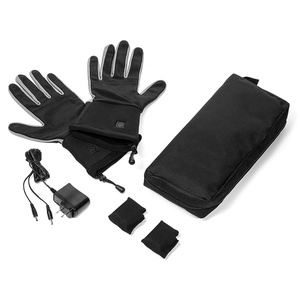 Microfiber gloves Rechargeable battery heated ski gloves