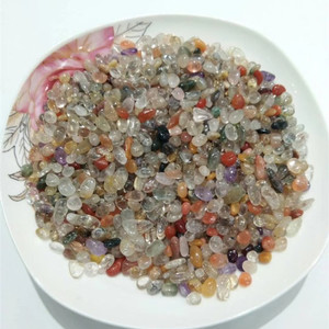 Quartz Crystal Bulk Natural Mixed Gemstones Healing Chakra Tumbled Stone