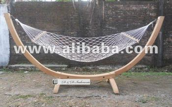 in stand chair brazilian noa teak hammock pin of hanging made newline with hardwood