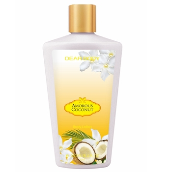 OEM Private label 250 ml profumo di cocco biancaneve body lotion sbiancante