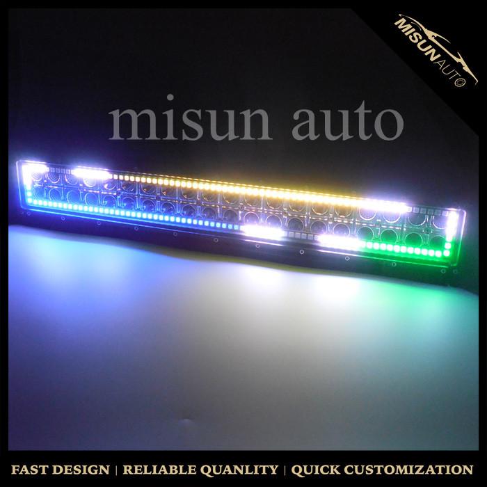 12v rgb light bar halo kits auto car 32inch 180w led light bar spot 12v rgb light bar halo kits auto car 32inch 180w led light bar spot flood work aloadofball Images