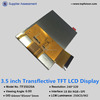 Best selling 3.5 inch industrial intelligent TFT LCD