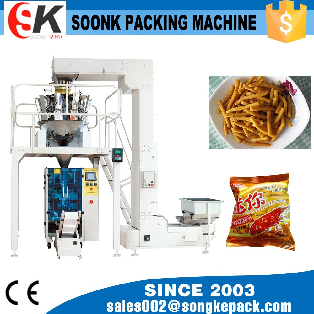 weighing 1kg chips packing machine