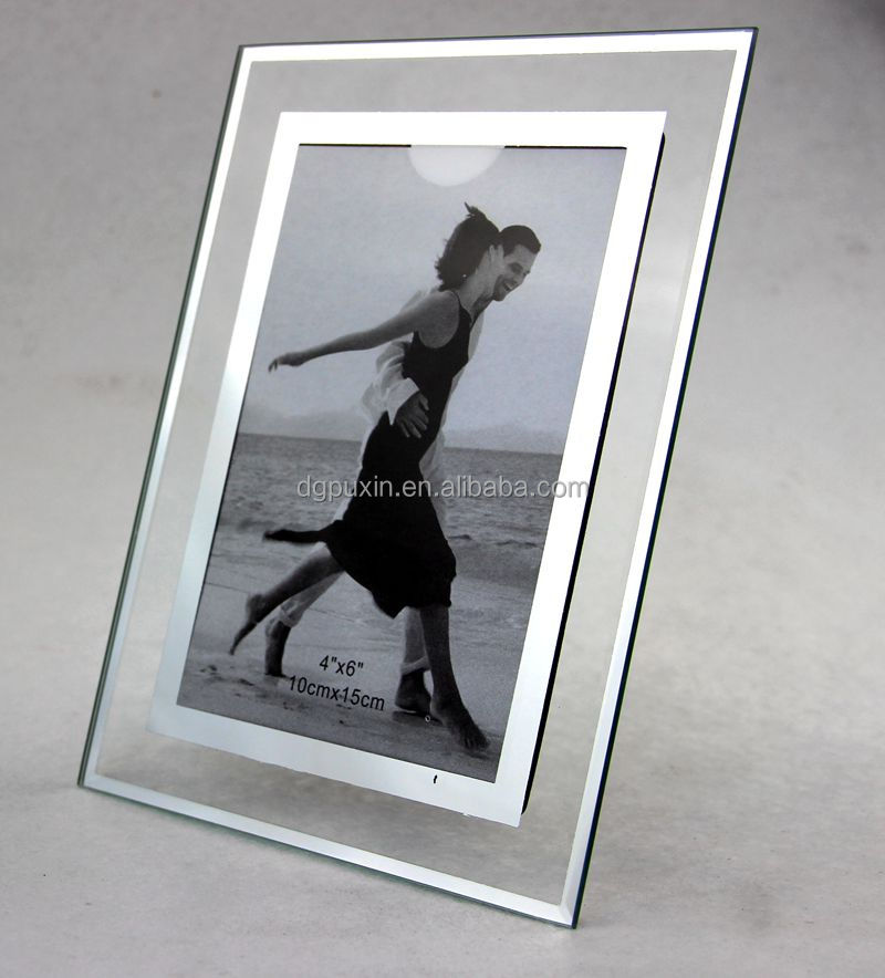 Glass Photo Frame, Glass Material and Photo Frame Type Photo crystal