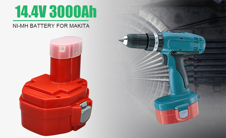 1 Year Warranty 14.4V NI-MH Replacement Cordless Drill Battery
