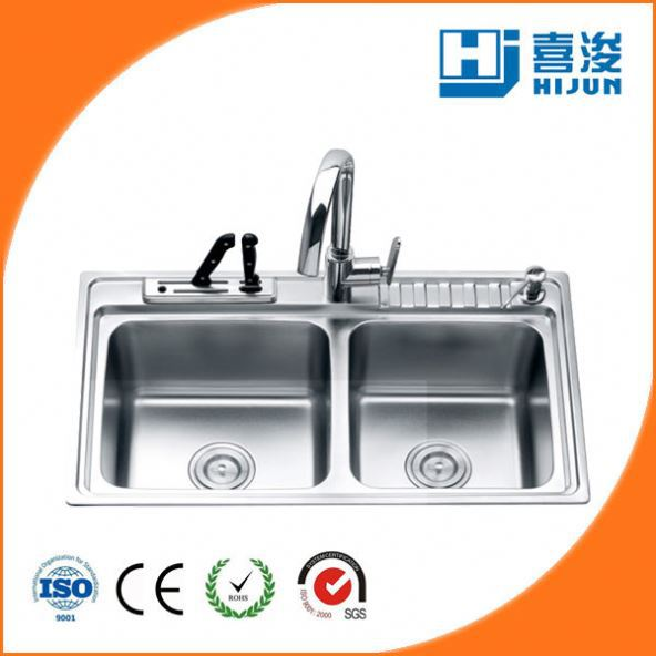 kitchen sinks stainless steel kitchen sinks stainless steel suppliers and manufacturers at alibabacom. beautiful ideas. Home Design Ideas