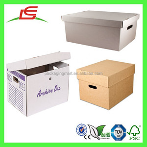 Q1104 China Factory Wholesale Custom Paper Postage Box, Archive Boxes