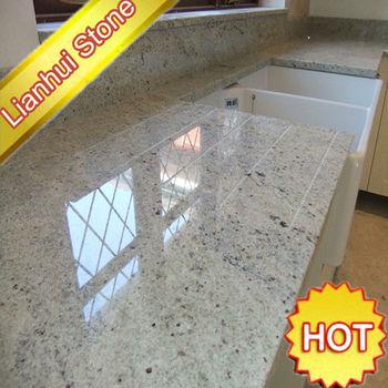 Kashmir beyaz granit mutfak tezgah buy tezgah mutfak for Paillasse cuisine granit