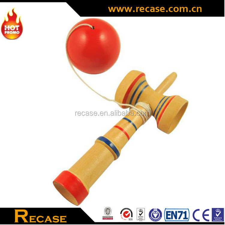 Japanese Kendama Wooden Toy Ball Game ,Traditional Standard Size Kendama