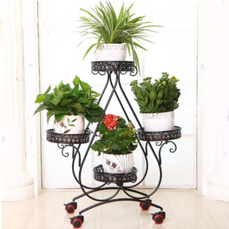 Wideny Wholesale Hot Selling Iron Wall Backdrop Custom Designs Stainless Steel Portable Decoration Flower Stand