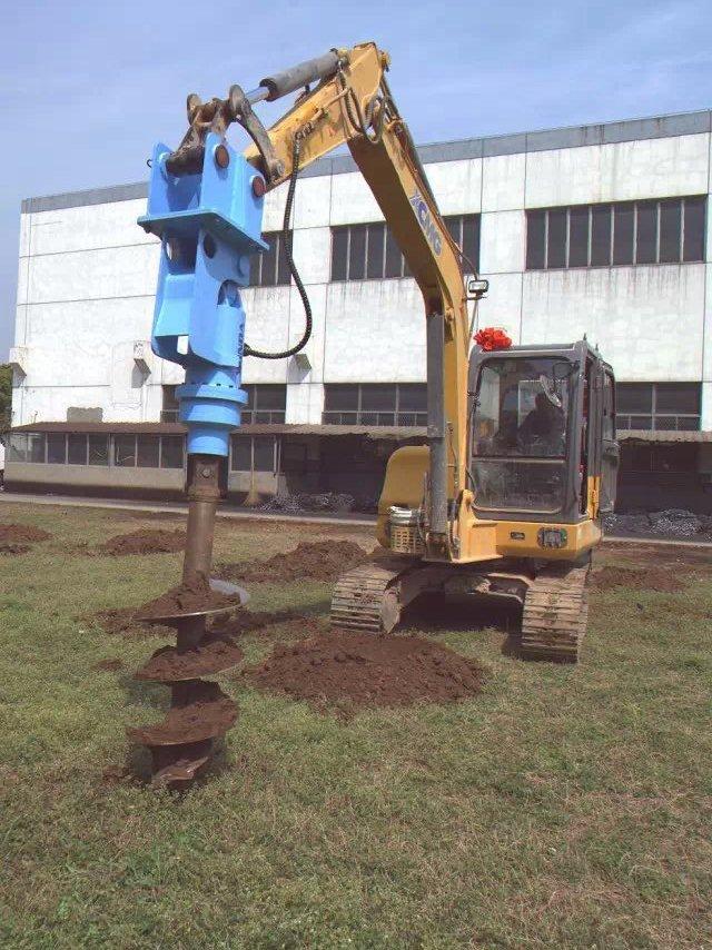 Factory Price Drill Attachment Tractor Mini Post Hole