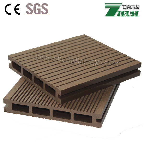 Torrefied wood plastic composites 140 23mm wpc deck for Plastic composite decking