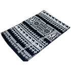 Jacquard cashmere fashion poncho wool men women knitting pant custom scarf